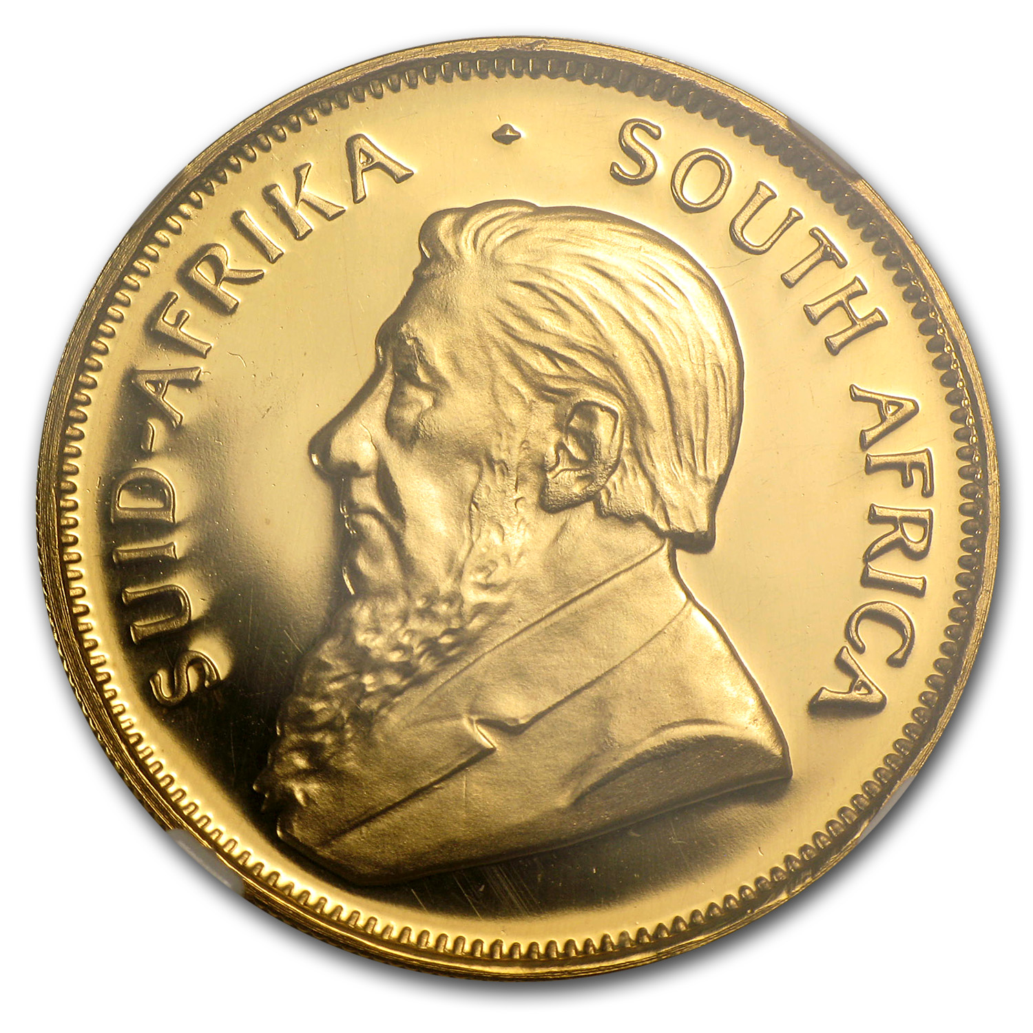 1987 1/2 oz Gold South African Krugerrand PF Details NGC (GRC)